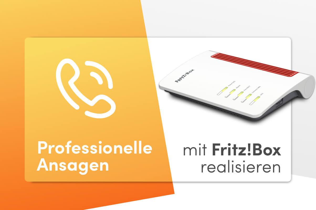 Professionelle Telefonansagen Fur Die Fritzbox